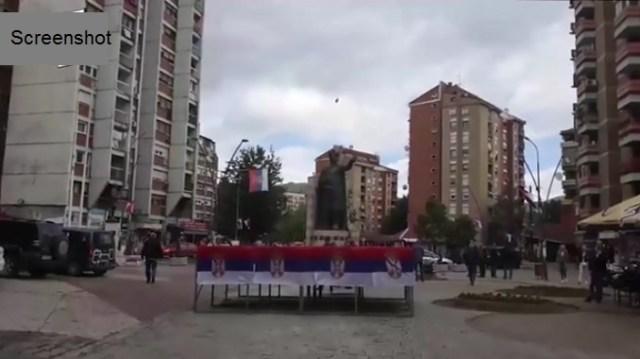 U Kosovskoj Mitrovici održan protest zbog jučerašnje akcije ROSU