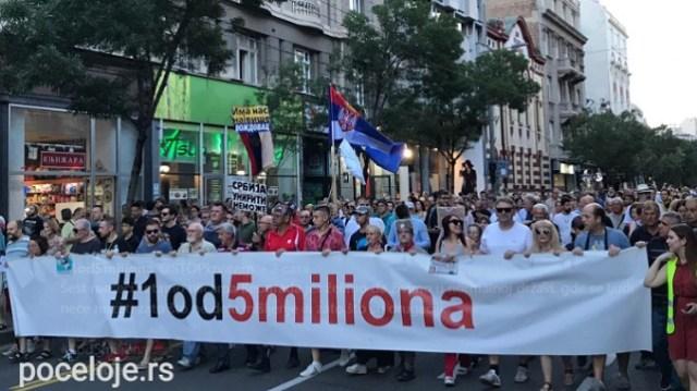 Protest 1 od 5 miliona u subotu u znaku podrške stanarima hotela Bristol
