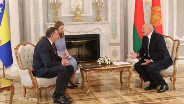 Lukašenko sa Dodikom: Dobro je da smo se konačno sreli, i to u pravom trenutku
