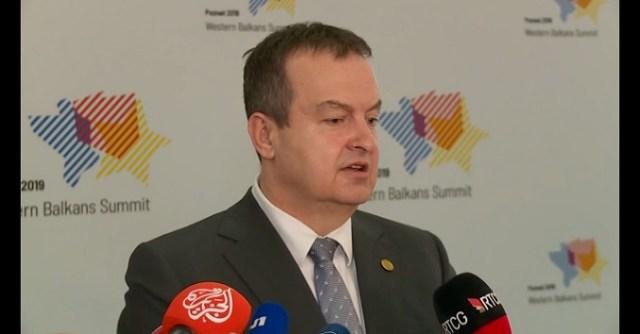 Ambasador Srbije u Sofiji pozvan kod Zaharijeve zbog Dačićeve izjave