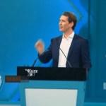 Kurcova stranka ubedljiva na izborima u Austriji