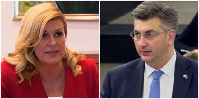 Kolinda: Cilj je bio da se skrene pažnja sa teškog unutrašnjo-političkog stanja u Srbiji; Plenković: Provokacija!