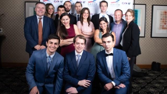Svečani prijem Srpsko-američke privredne komore u Hjustonu za studente iz Srbije