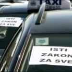 "Policija blokirala taksiste u NS, ""Cela Srbija će doći u Beograd"""