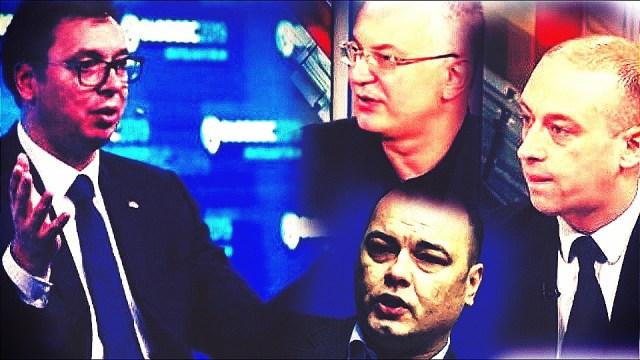 Dveri: Vučić veoma zainteresovan za usluge Šuleta, Kene i Ješića