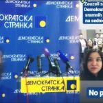 Demokratska omladina: Ovo nije blokada, čekamo Lutovca