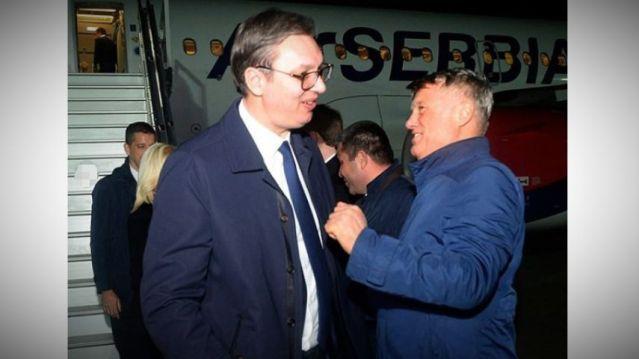 Predsednik Srbije doputovao u Soči, u sredu sa Putinom