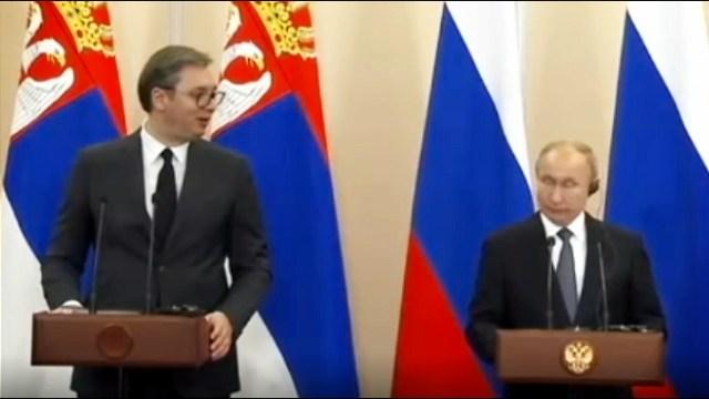Vučić razgovarao s Putinom o KiM