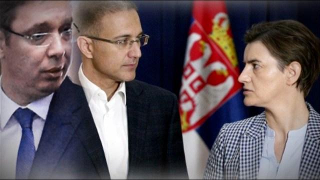 Zašto Vučić izbegava društvo Nebojše Stefanovića i Ane Brnabić