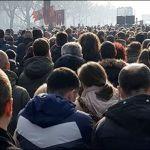 Hiljade građana Zemuna i Novog Beograda u litiji podrške Srpskoj pravoslavnoj crkvi