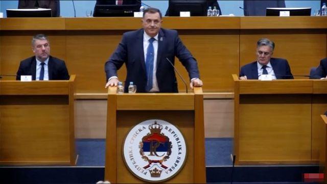 Dodik: Goodbye BiH, welcome RS-exit