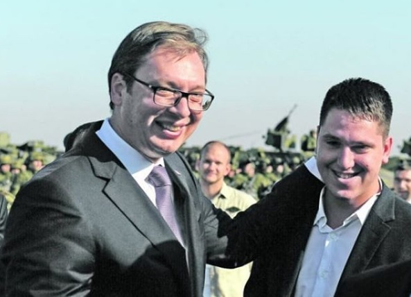 Vučićev stariji sin Danilo zaražen koronavirusom
