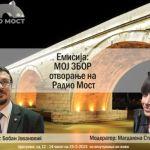 25. maja počinje sa emitovanjem balkanski Radio MOST: Da se čuje i moja reč!