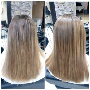 Вишуканий догляд та відновлення волосся Marula Oil майстер Марина Чорна,салон Новіта