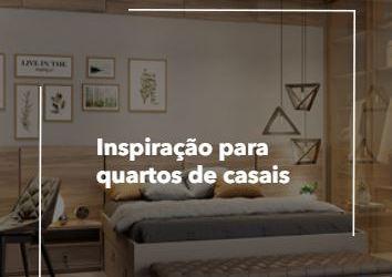 INSPIRAÇÃO PARA QUARTOS DE CASAIS