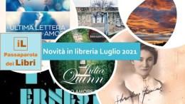 Libri novità Luglio 2021