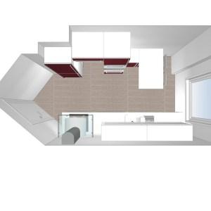2314 Estudiar y valorar cocina integrada de 10 a 11 m2