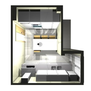 2430 Estudiar y valorar cocina integrada de 14 a 15 m2