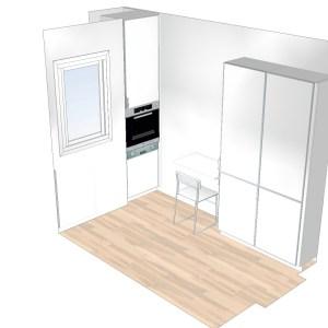 1122 Estudiar y valorar cocina integrada de 6 a 7 m2