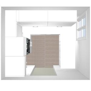 3173 Estudiar y valorar cocina integrada de 5 a 6 m2