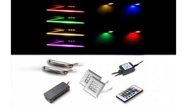 Clairage LED RGB Clip Carr Novomeuble