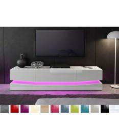 meuble tv suspendu lumineux pour salon