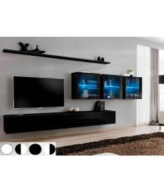 meuble tv mural design pour salon