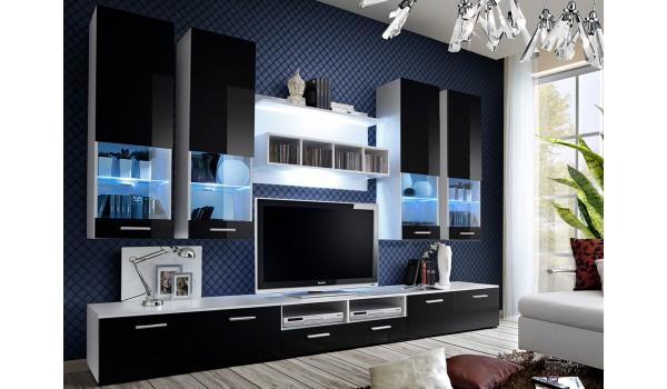 meuble tv design led 3m