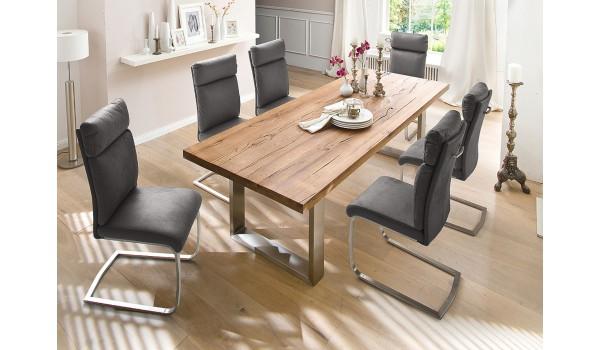 table salle a manger en bois design