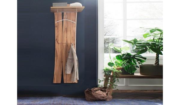 porte manteaux mural design en bois