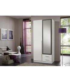armoire dressing pas cher avec miroir