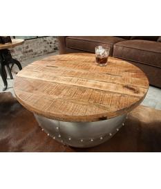 table basse ronde originale pour salon