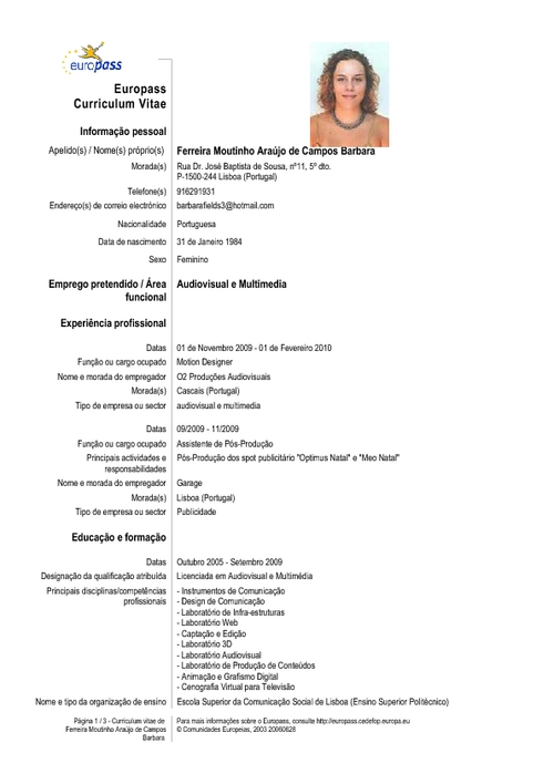 modelo de curriculum vitae doc lebenslauf englisch formulierungen