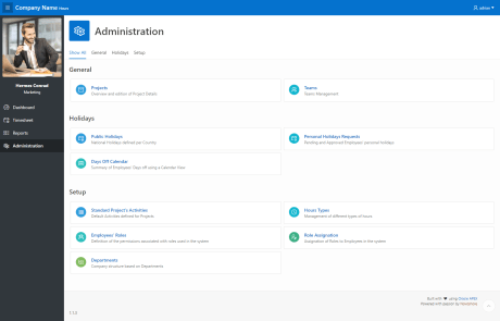 Hours - Administration - Overview
