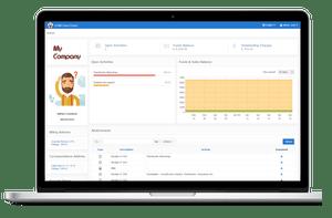 sCRM - Client Portal - Laptop