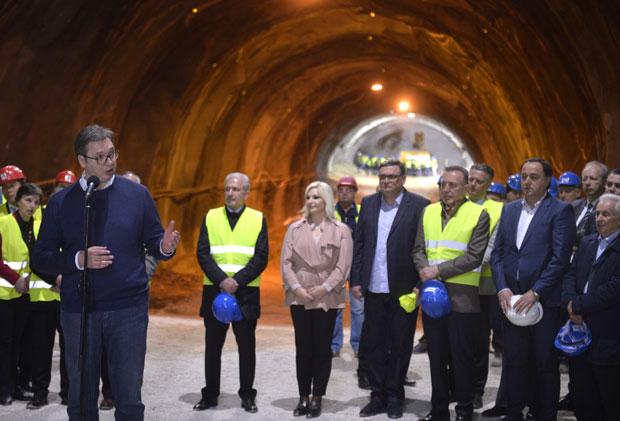 Predsednik: Koridor 11 će imati ime, daće ga građani tunel1