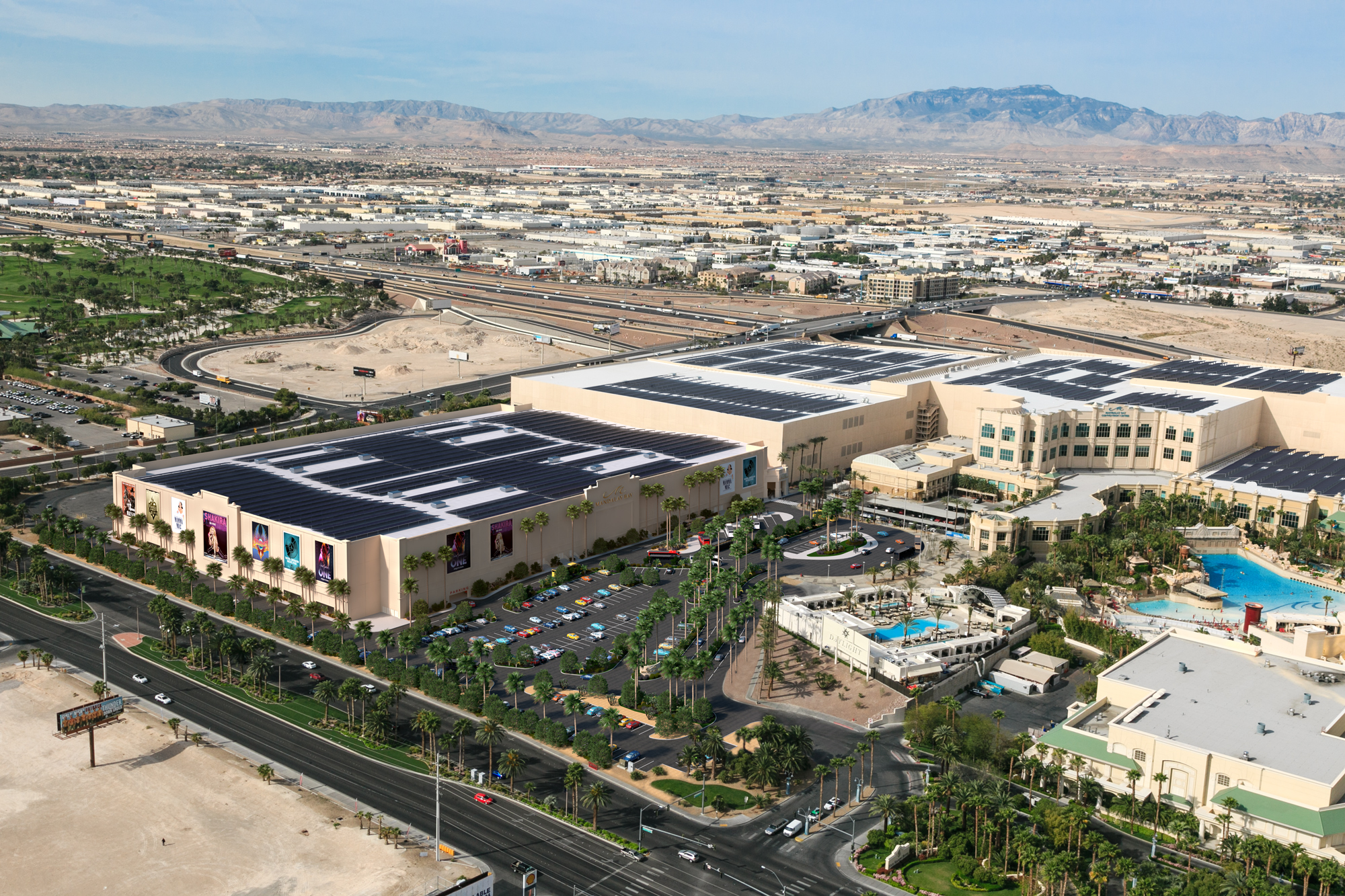 Mandalay Bay Convention Center Concept Design