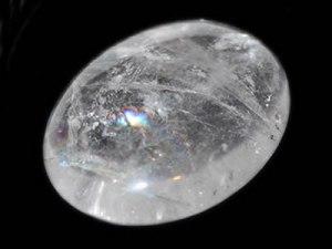 Cristal de roche plat