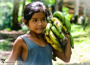 Dziewczynka, Brazylia, Amazonia