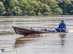 Dżungla Amazońska, na rzece