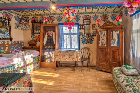 Dom Felicji Curyłowej we wsi Zalipie