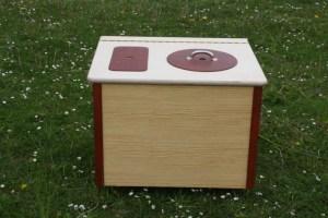 Die Bunte - Komposttoilette für Innenräume