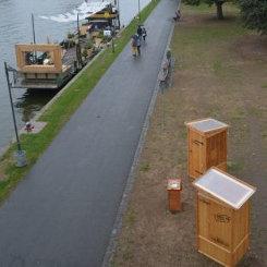 nowato Komposttoilette Modell Wiese am Main Ufer