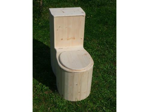 Komposttoilette 'Die Schnecke' unbehandelt