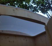 nowato Komposttoilette 'Heide' · Ansicht Dach von Innen