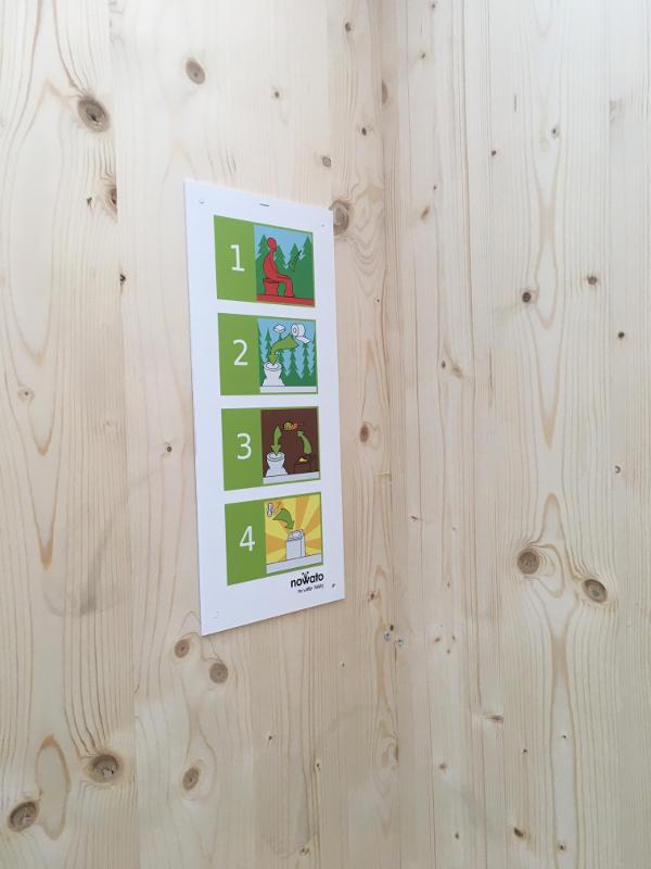 nowato Komposttoilette Modell 'Heide' · Nutzungsanleitung