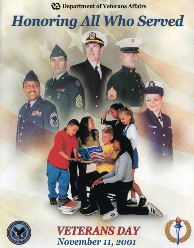 Veterans Day 2001 Poster