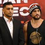 Amir Khan with Phil Lo Greco
