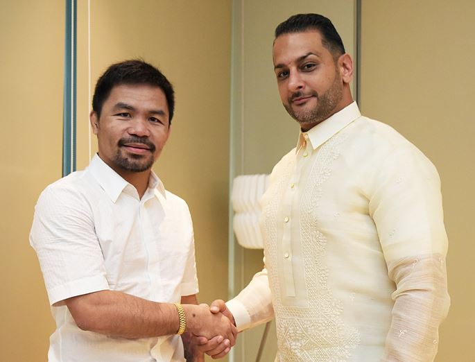 Boxing star Manny Pacquiao signs with Conor McGregor's management agency