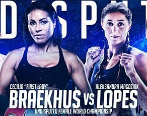 Watch Cecilia Braekhus vs Aleksandra Magdziak Lopes, Claressa Shields, Juan Francisco Estrada Live on HBO BAD